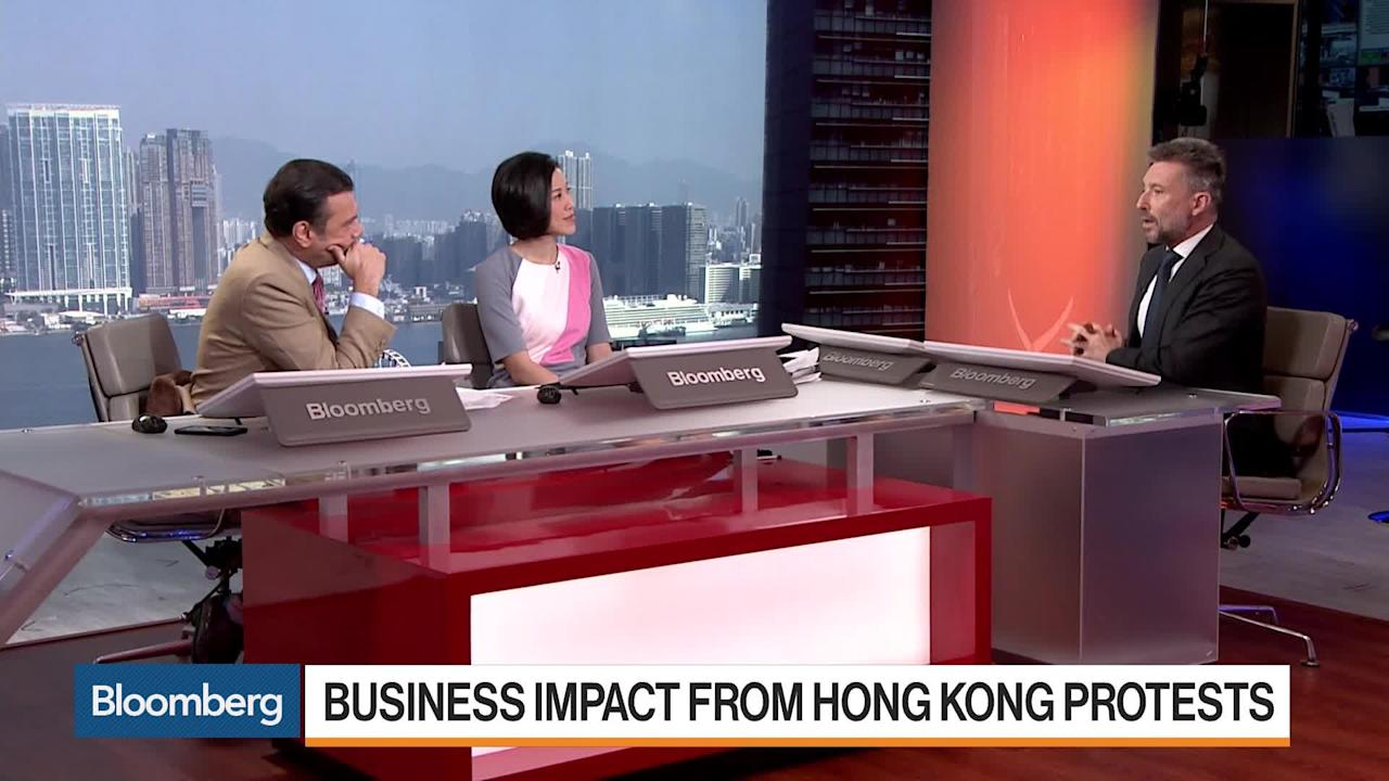 """Nov.14 -- Jean-Marc Pontroue, chief executive officer at Panerai, discusses the protests in Hong Kong, their impact on his business and his outlook for retail. He speaks on """"Bloomberg Markets: Asia."""""""