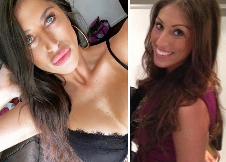 Married At First Sight's Tamara now and then. Photo: Instagram/tamara__joy/ (L) and StarNow/Tamara Laing (R)