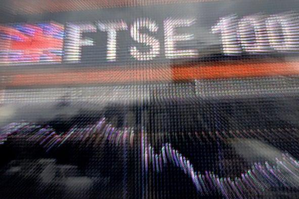 <p>The FTSE 100 gained 5.53 points to 7,035.32 earlier on Wednesday</p> (AFP/Getty)
