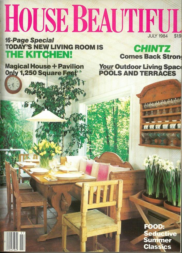 <p>1984 babies, did you know you were born the year chintz came back strong? If not, you heard it here first.</p>