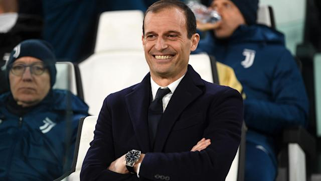 Massimiliano Allegri was unhappy with criticism of Juventus after their Champions League draw with Tottenham.
