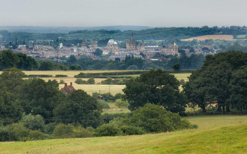View of Oxford from the Oxford Green Belt Way - David Burges