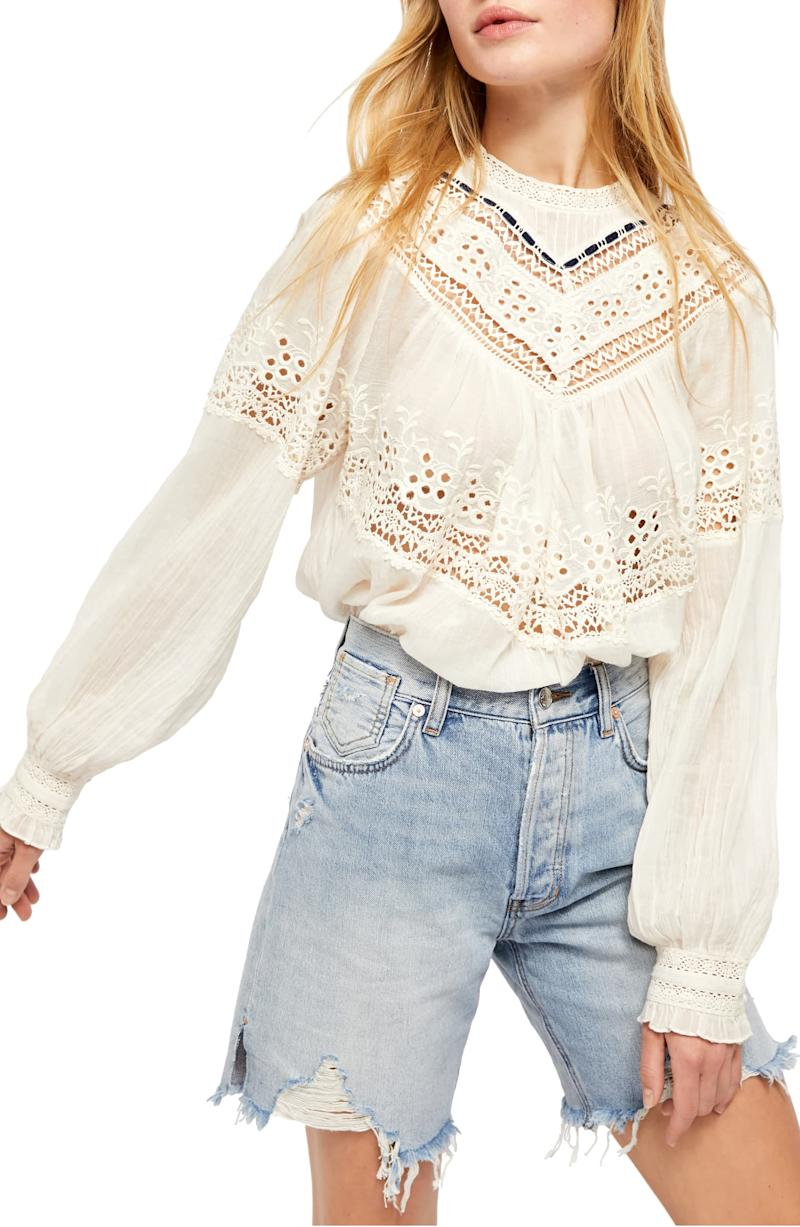 Free People Abigail Victorian Top. Image via Nordstrom.