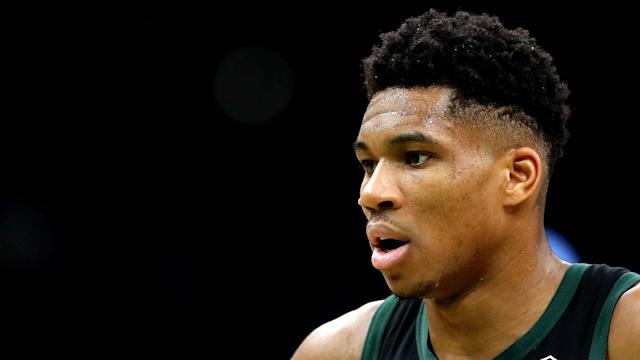 """Giannis Antetokounmpo says he will do """"whatever it takes"""" to be an MVP, but is unsure if he is ready to succeed James Harden this season."""