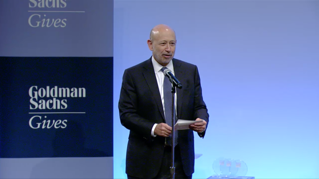 Goldman Sachs presents their third annual Analyst Impact Fund competition
