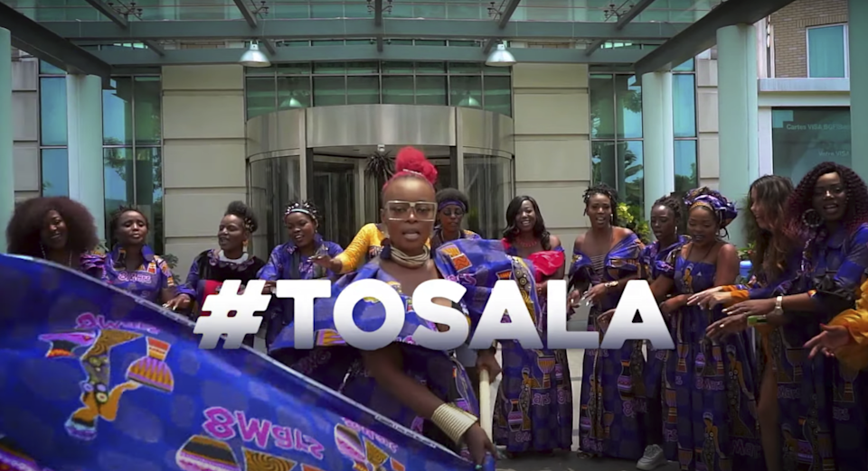 Le clip #Tosala (Agissons !). (Capture d'écran YouTube)