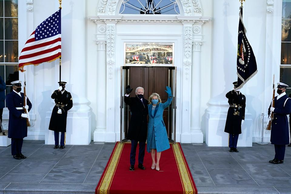 <p>First Lady Jill Biden taught right up until leaving for presidential inauguration</p> (AP Photo/Alex Brandon, Pool)