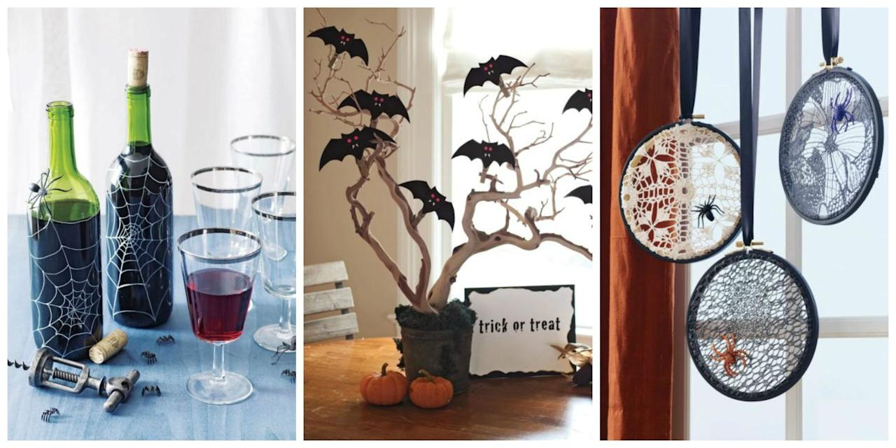 "<p>Cut and glue your way to perfect Halloween decor with these easy DIY projects. Plus, check out our <a rel=""nofollow"" href=""http://www.womansday.com/home/crafts-projects/g2490/halloween-kids-crafts/"">Halloween craft ideas for kids</a> and <a rel=""nofollow"" href=""http://www.womansday.com/home/crafts-projects/how-to/g2552/fall-crafts/"">fun fall crafts</a>!</p>"
