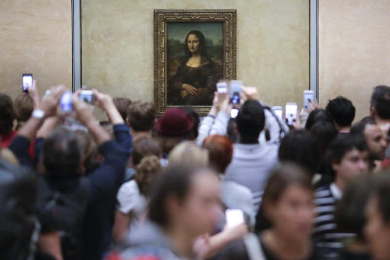 The Mona Lisa is the main draw for visitors to the Louvre (AP Photo/Markus Schreiber, File)