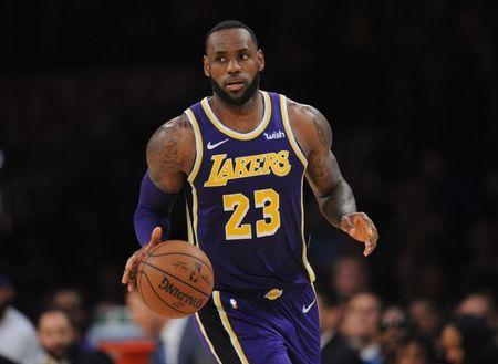 March 6, 2019; Los Angeles, CA, USA; Los Angeles Lakers forward LeBron James (23) moves the ball against the Denver Nuggets during the second half at Staples Center. Gary A. Vasquez