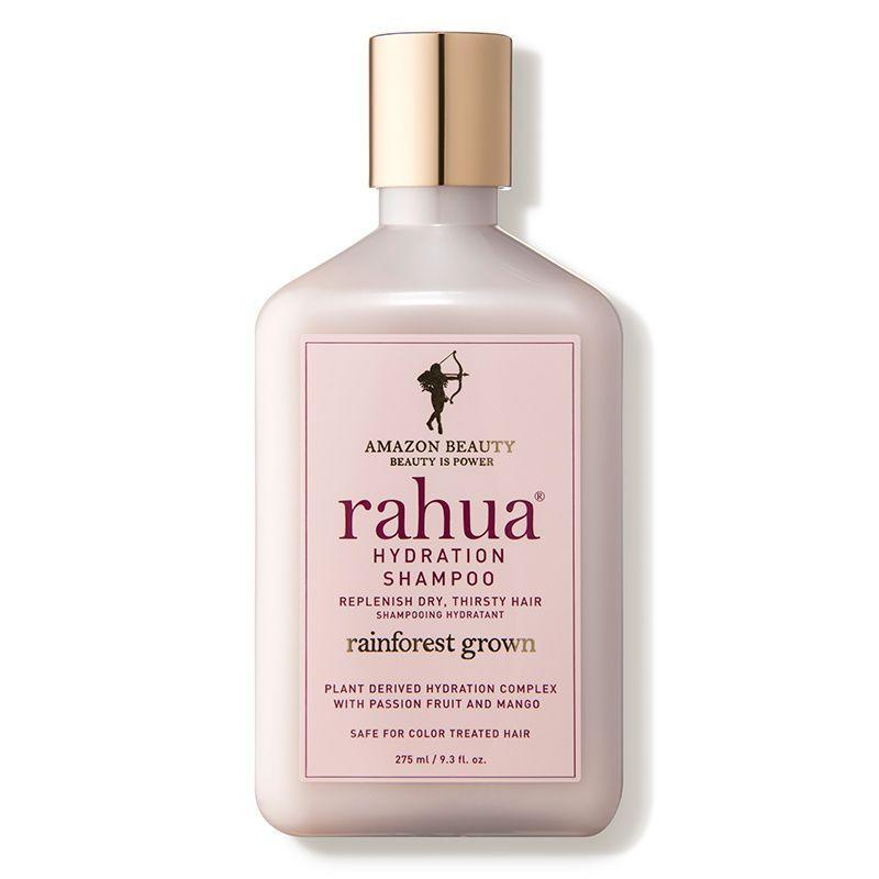 """<p><strong>Rahua</strong></p><p>dermstore.com</p><p><strong>$34.00</strong></p><p><a href=""""https://go.redirectingat.com?id=74968X1596630&url=https%3A%2F%2Fwww.dermstore.com%2Fproduct_Hydration%2BShampoo_76115.htm&sref=https%3A%2F%2Fwww.cosmopolitan.com%2Fstyle-beauty%2Fbeauty%2Fg20874938%2Fbest-shampoo-dry-damaged-hair%2F"""" rel=""""nofollow noopener"""" target=""""_blank"""" data-ylk=""""slk:Shop Now"""" class=""""link rapid-noclick-resp"""">Shop Now</a></p><p>First, this shampoo for damaged hair is free of <a href=""""https://www.cosmopolitan.com/style-beauty/beauty/g12230240/best-sulfate-free-shampoo/"""" rel=""""nofollow noopener"""" target=""""_blank"""" data-ylk=""""slk:sulfates"""" class=""""link rapid-noclick-resp"""">sulfates</a> (aka color-stripping surfactants that fade your dye job). Second, it contains a ton of good-for-your-hair ingredients, like protective antioxidants, strengthening quinoa protein, moisturizing aloe vera, and nourishing rahua oil. So not only will <strong>your color stay strong and bright</strong>, but your hair health will skyrocket too.</p>"""