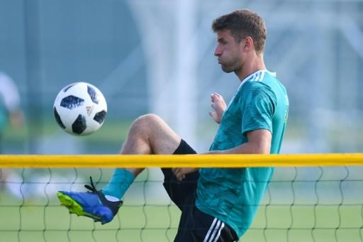 Germany forward Thomas Mueller has had a quiet start to his World Cup