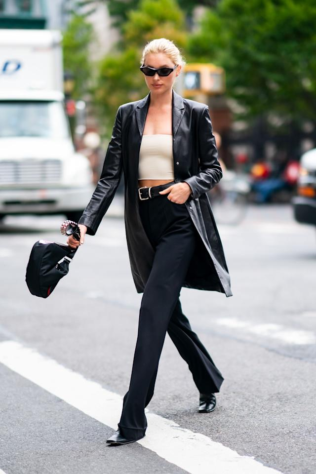 """<p>The Matrix-inspired leather coat has been <a href=""""https://www.harpersbazaar.com/uk/fashion/shows-trends/a29228491/matrix-leather-trend/"""" target=""""_blank"""">dominating street style</a> for a few seasons now – and the outerwear was also all over the <a href=""""https://www.harpersbazaar.com/uk/fashion/shows-trends/g19131531/autumn-winter-fashion-trends/"""" target=""""_blank"""">catwalks for autumn/winter 2020</a>. Seen everywhere from Alexander McQueen and Bottega Veneta to Erdem, Fendi, Ferragamo, Gabriela Hearst, Khaite and Miu Miu, there is no doubt that the item will reign supreme this autumn.</p><p>Not sure how to make it work for you? There are plenty of styles to choose from. Whether you do it with pops of colour or more neutral hues, traditional tailored fits or those which are fluid and relaxed, the leather coat is a must-have for the season ahead and will be an item you'll turn to year after year.</p><p>Here, we round up our favourites to buy now and wear forever.</p>"""