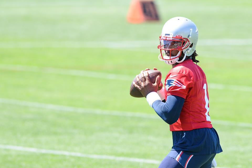 Cam Newton ready for another season with the Patriots.