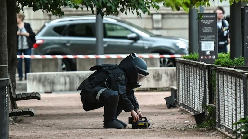 Manhunt continues after Lyon bomb attack