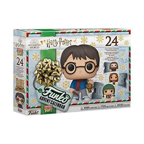 """<p><strong>Funko</strong></p><p>amazon.com</p><p><strong>$39.99</strong></p><p><a href=""""https://www.amazon.com/dp/B084R1YBML?tag=syn-yahoo-20&ascsubtag=%5Bartid%7C10055.g.23595566%5Bsrc%7Cyahoo-us"""" rel=""""nofollow noopener"""" target=""""_blank"""" data-ylk=""""slk:Shop Now"""" class=""""link rapid-noclick-resp"""">Shop Now</a></p><p>What's better than a <em>Harry Potter</em> advent calendar filled with chocolate? One filled with adorable figurines, like this one which features everyone's favorite witches, wizards, beasts, ghosts and house elves. </p>"""