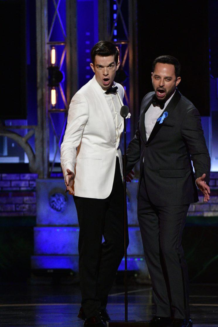 John Mulaney and Nick Kroll at the Tony Awards (Photo: John P. Filo/CBS)