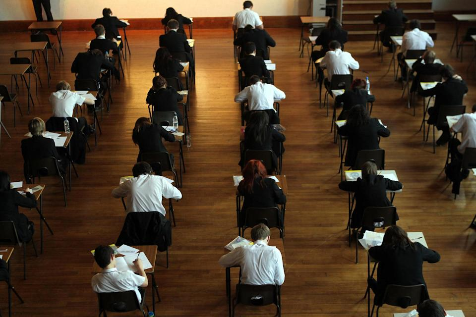Students taking exams in a previous year (PA)
