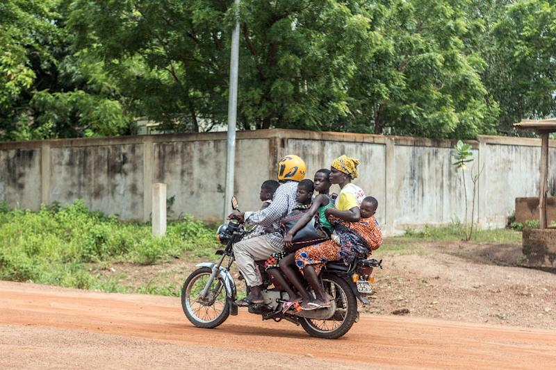 People have been fleeing the city of Save following days of unrest in the West African country of Benin