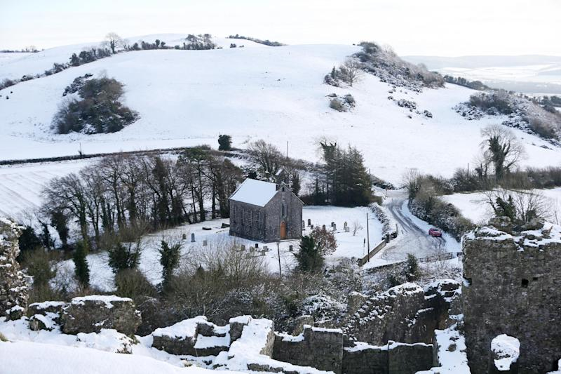 Talk of possible snow raised concerns that this year's General Election could see a lower turnout (PA Archive/PA Images)