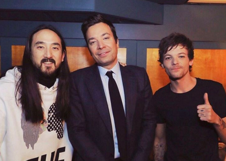 Louis appeared on The Tonight Show with his collaborator, Steve Aoki.