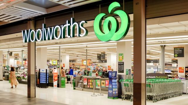 Woolworths store super sale event