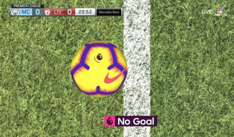 John Stones' goal-line clearance barely kept Liverpool off the board back in January. (NBC Sports Live Extra)