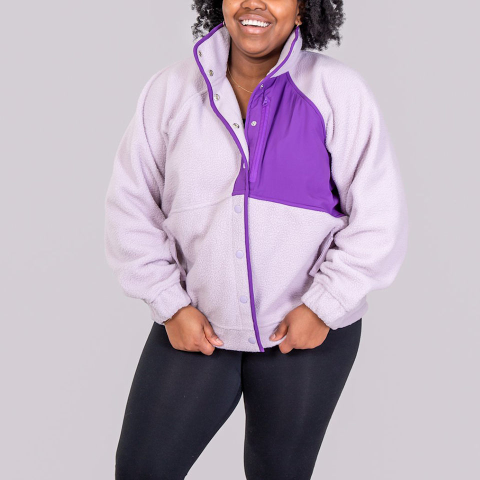 """<p><strong>Alder Apparel</strong></p><p>alderapparel.com</p><p><strong>$152.00</strong></p><p><a href=""""https://www.alderapparel.com/products/go-far-fleece?variant=39349075837108"""" rel=""""nofollow noopener"""" target=""""_blank"""" data-ylk=""""slk:Shop Now"""" class=""""link rapid-noclick-resp"""">Shop Now</a></p><p>Crafted with sustainability in mind, this women-founded brand focuses on offering snug and colorful apparel that is made for those who like to be outdoors. The brand is all about inclusivity and diversity and wanted to make athleisure wear that you'll feel good in no matter the activity. </p><p><em>Style Pictured Available in XS to 5xL</em></p>"""
