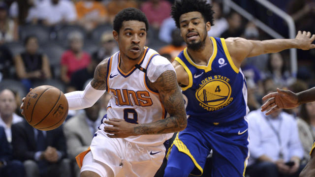 <p>The Warriors' crowded depth chart at point guard reportedly got a little more crowded with the addition of Tyler Ulis. </p>