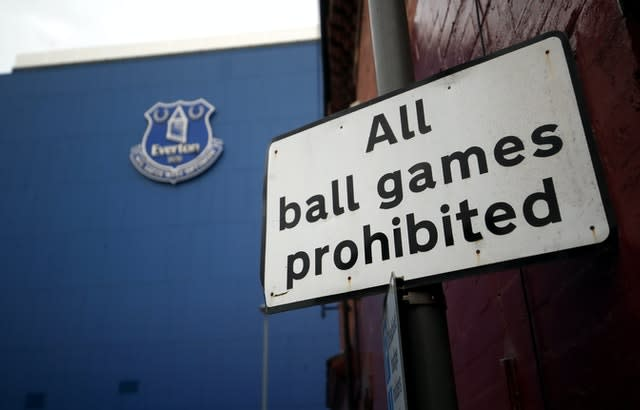 The Premier League has been suspended since March 13 (Martin Rickett/PA)