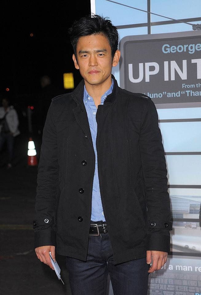 "<a href=""http://movies.yahoo.com/movie/contributor/1804486090"">John Cho</a> at the Los Angeles premiere of <a href=""http://movies.yahoo.com/movie/1810062520/info"">Up in the Air</a> - 11/30/2009"