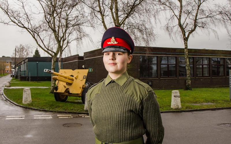 2019 marks the first timethe Army, Navy, and Royal Air Force have been made entirely open to employingwomen - Chris Brock. Channel 4 images must not be altered or manipulated in any way. This picture may be used solely for Channel 4 progr