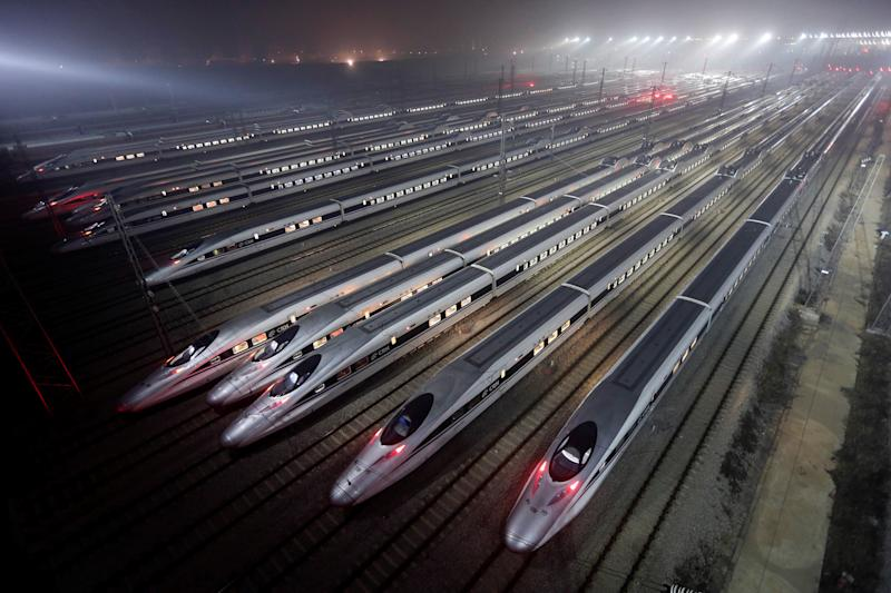 China set to increase bullet train speed after six years