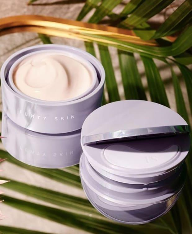 "Fenty Skin Instant Reset Overnight Recovery Gel-Cream, $40, <a href=""https://shop-links.co/1721066470927983741"" rel=""nofollow noopener"" target=""_blank"" data-ylk=""slk:available here"" class=""link rapid-noclick-resp"">available here</a>.<br>"
