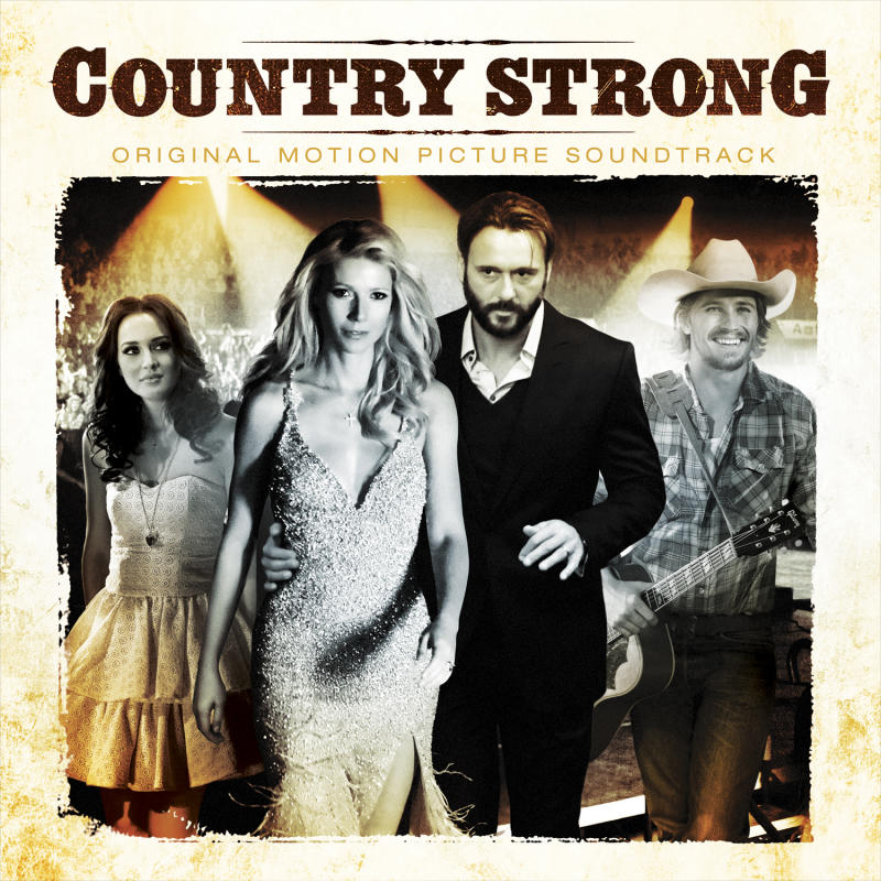 """In this CD cover image released by RCA Nashville, """"Country Strong: Original Motion Picture Soundtrack""""  is shown. (AP Photo/RCA Nashville)"""