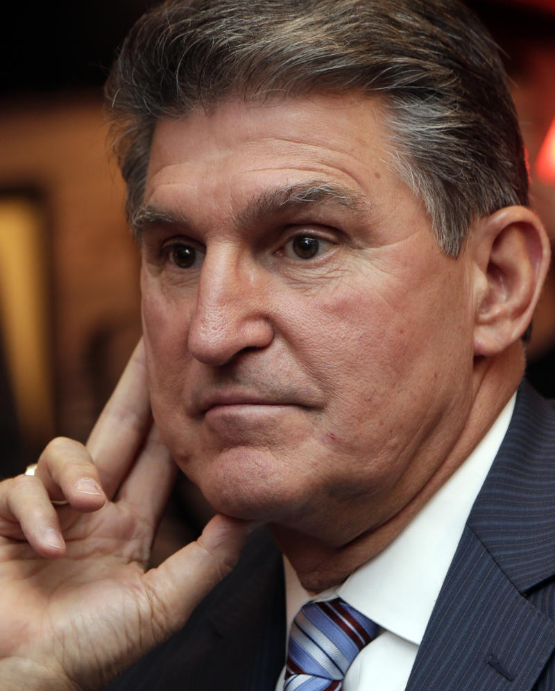 W.Va.'s Manchin: Time to rethink gun legislation