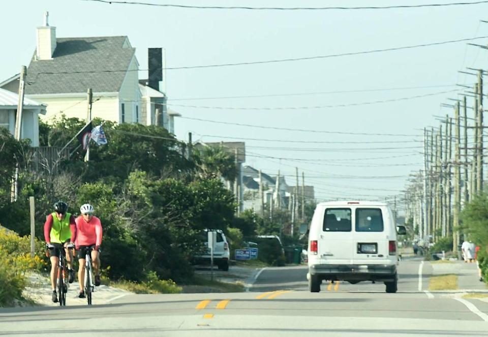 In Topsail Beach, parking is free for residents and visitors, but that may change. At the board's September meeting, officials from Topsail Beach discussed the possibility of adding paid parking for the 2022 season.