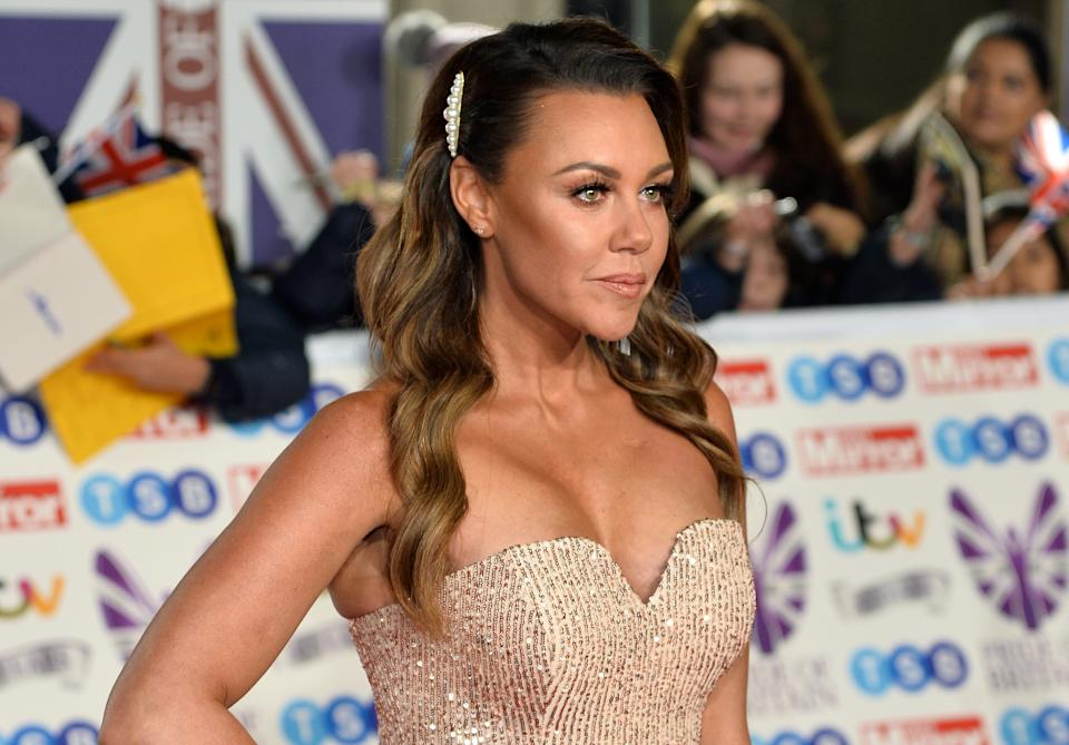 LONDON, ENGLAND - OCTOBER 28: Michelle Heaton attends Pride Of Britain Awards 2019 at The Grosvenor House Hotel on October 28, 2019 in London, England. (Photo by Jeff Spicer/Getty Images)