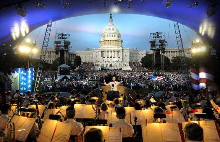 The view from the National Memorial Day Concert. (Photo: Capitol Concerts)