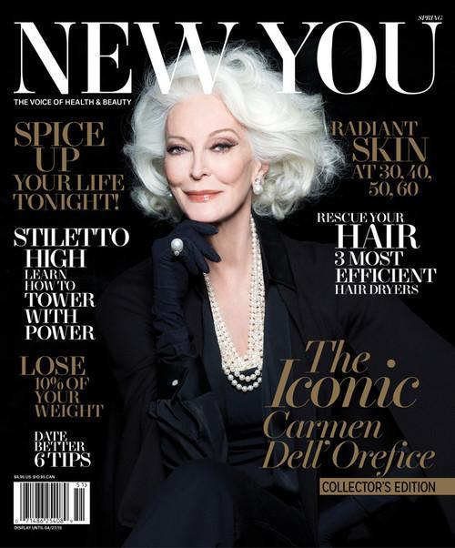 Magazine for 50 year old woman