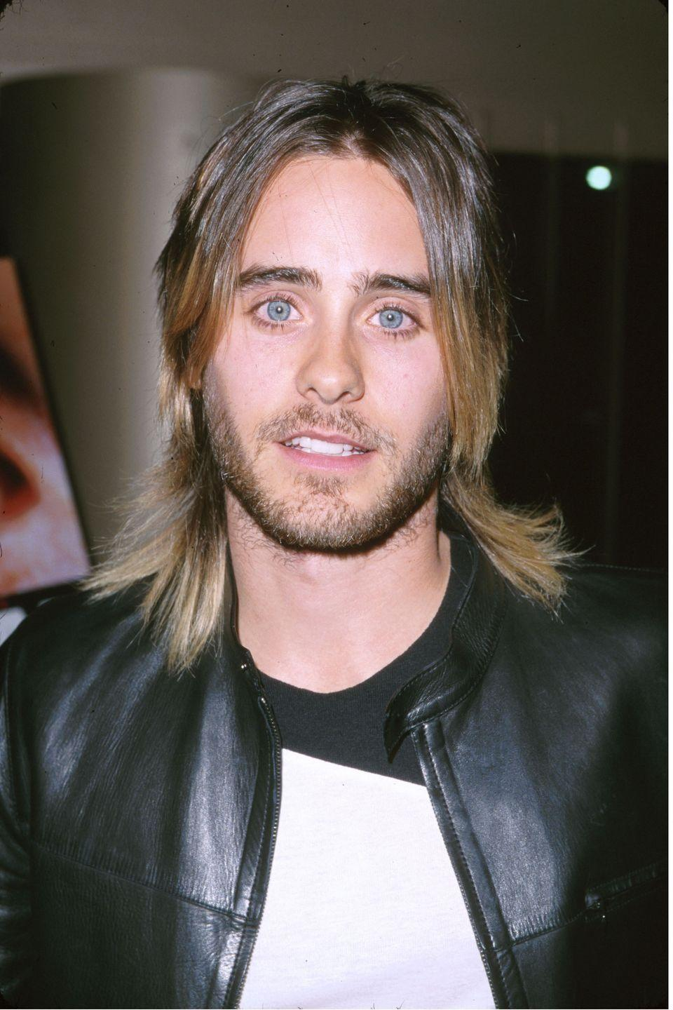 <p>Beginning his career on <em>My So-Called Life</em>, Leto became beloved by fans when he starred in movies like <em>Fight Club, American Psycho, Requiem for a Dream, </em>and later formed the band 30 Seconds to Mars with his brother.  </p>
