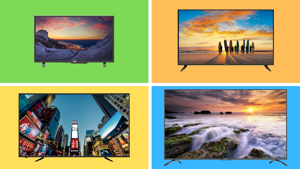 Find awesome deals on 4K TVs this week at Walmart—starting at just $85. (Photo: Walmart)