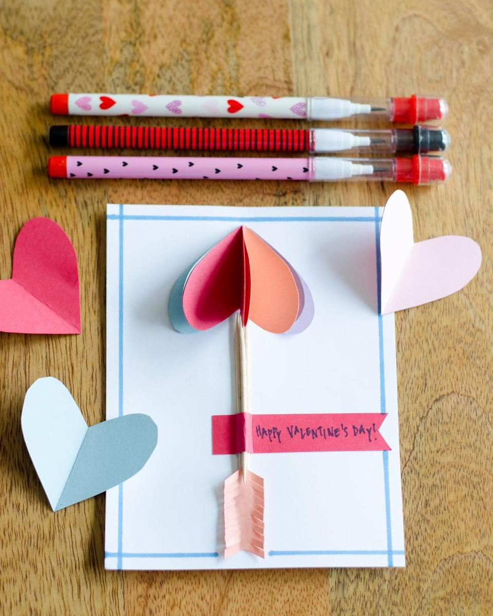 quick valentine's day cards you can make with your kids