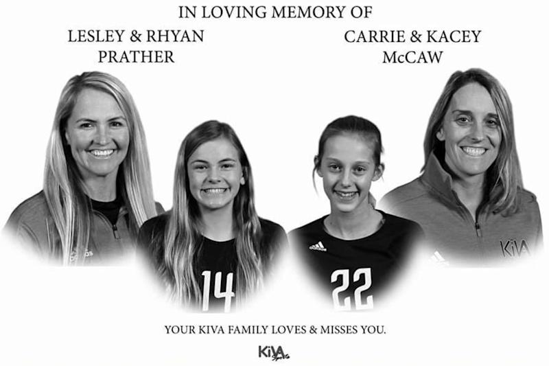 Former College Volleyball Stars and Their Daughters, 12, Killed in Car Crash