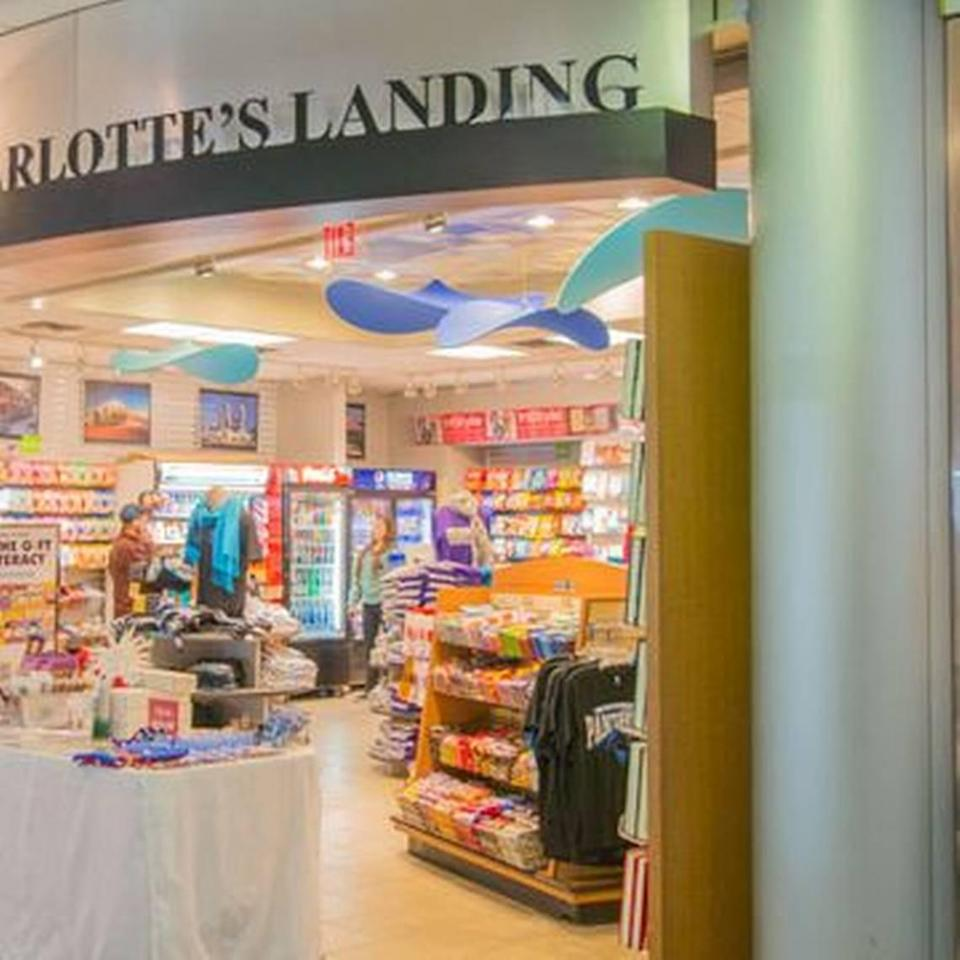 A man landed on a jackpot with a $1 lottery ticket he bought at the Charlotte's Landing gift and snack shop at Charlotte Douglas International Airport, N.C. lottery officials said on Thursday, Aug. 5, 2021.