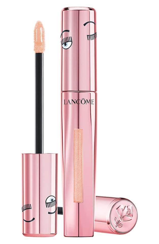 """<p>This exclusive <a href=""""https://www.popsugar.com/buy/Lanc%C3%B4me-x-Chiara-Ferragni-LAbsolu-Lacquer-Longwear-Lip-Color-481737?p_name=Lanc%C3%B4me%20x%20Chiara%20Ferragni%20L%27Absolu%20Lacquer%20Longwear%20Lip%20Color&retailer=shop.nordstrom.com&pid=481737&price=16&evar1=bella%3Aus&evar9=46515189&evar98=https%3A%2F%2Fwww.popsugar.com%2Fphoto-gallery%2F46515189%2Fimage%2F46515887%2FLanc%C3%B4me-x-Chiara-Ferragni-LAbsolu-Lacquer-Longwear-Lip-Color&list1=shopping%2Cmakeup%2Cbeauty%20products%2Cbeauty%20shopping%2Csale%20shopping%2Cbeauty%20sale%2Cskin%20care&prop13=api&pdata=1"""" rel=""""nofollow"""" data-shoppable-link=""""1"""" target=""""_blank"""" class=""""ga-track"""" data-ga-category=""""Related"""" data-ga-label=""""https://shop.nordstrom.com/s/lancome-x-chiara-ferragni-labsolu-lacquer-longwear-lip-color-nordstrom-exclusive/5308532?origin=category-personalizedsort&amp;breadcrumb=Home%2FSale%2FWomen%2FBeauty%20%26%20Fragrance&amp;color=girl%20next%20door"""" data-ga-action=""""In-Line Links"""">Lancôme x Chiara Ferragni L'Absolu Lacquer Longwear Lip Color </a> ($16, originally $26) has a shimmery, champagne finish that's universally flattering.</p>"""