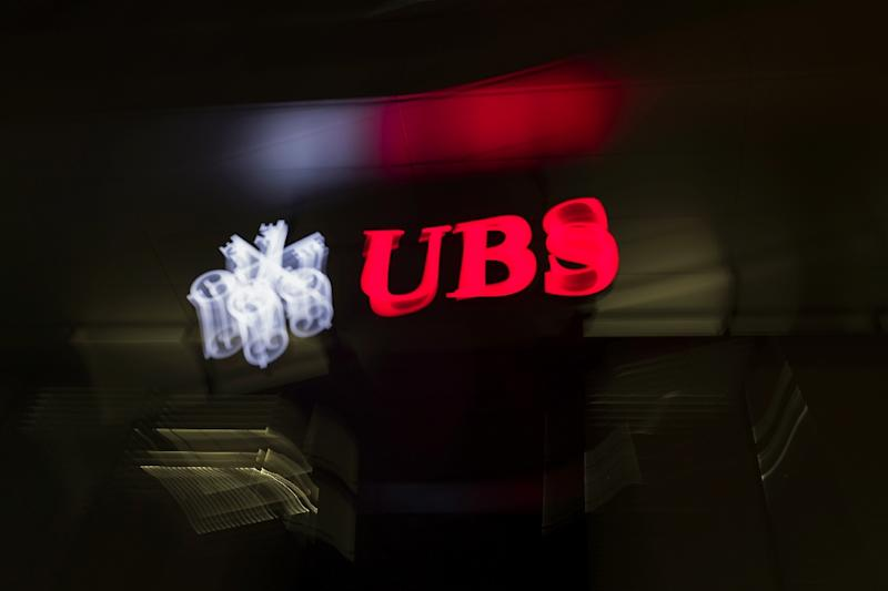 UBS reported its net profits for the year were 3.3 billion Swiss francs (3.09 billion euros, $3.3 billion)