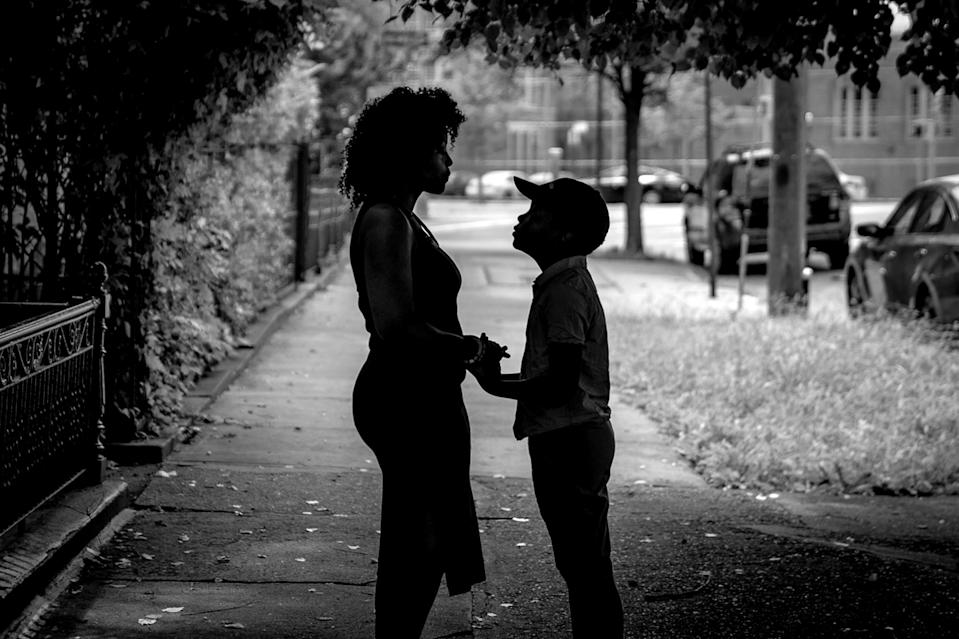 """Phiwa Nkosi, a """"Dreamer,"""" is afraid that if proposed changes go through, her son's Medicaid could be used against her when she applies for permanent status. (Photo by David """"Dee"""" Delgado for Yahoo News)"""