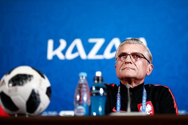 Coach Adam Nawalka says Poland have done their homework ahead of their World Cup match against Colombia (AFP Photo/BENJAMIN CREMEL)