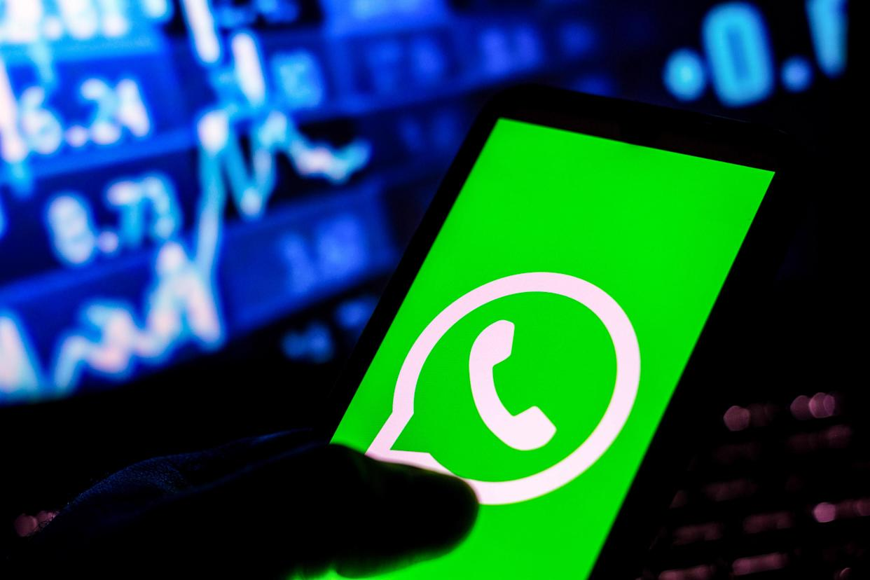 WhatsApp has been fined for privacy law breaches. Photo: Rafael Henrique/SOPA Images/LightRocket via Getty Images